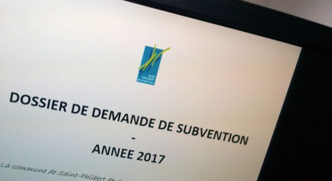 dossier subvention
